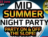 Snow Centre Party June 22