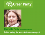 Green Party candidate Charlotte Pardy