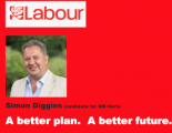 Labour Party candidate Simon Diggins