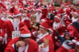 Santa Dash for Hospice of St Francis