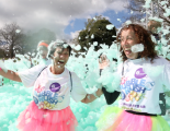 Bubble Rush 2016 Hospice of St. Francis